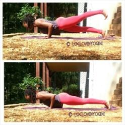 chatarunga yoga pose